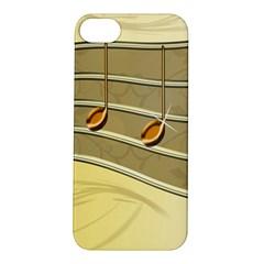 Music Staves Clef Background Image Apple Iphone 5s/ Se Hardshell Case