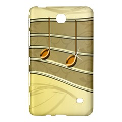 Music Staves Clef Background Image Samsung Galaxy Tab 4 (8 ) Hardshell Case