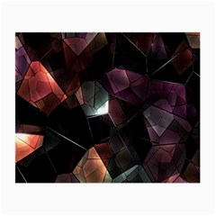 Crystals Background Design Luxury Small Glasses Cloth