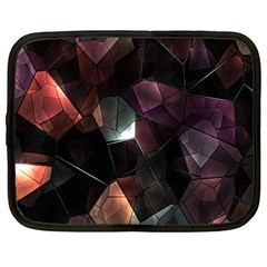 Crystals Background Design Luxury Netbook Case (large)