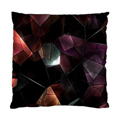 Crystals Background Design Luxury Standard Cushion Case (two Sides)