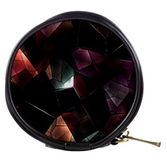 Crystals Background Design Luxury Mini Makeup Bags
