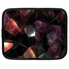 Crystals Background Design Luxury Netbook Case (xxl)