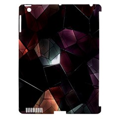 Crystals Background Design Luxury Apple Ipad 3/4 Hardshell Case (compatible With Smart Cover)