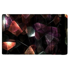 Crystals Background Design Luxury Apple Ipad 2 Flip Case