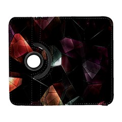 Crystals Background Design Luxury Galaxy S3 (flip/folio)