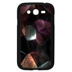 Crystals Background Design Luxury Samsung Galaxy Grand Duos I9082 Case (black)