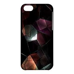 Crystals Background Design Luxury Apple Iphone 5c Hardshell Case