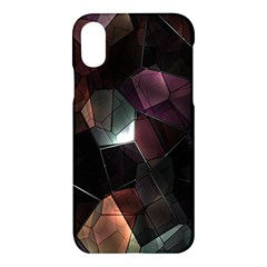 Crystals Background Design Luxury Apple Iphone X Hardshell Case