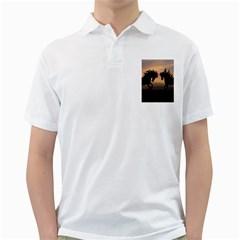 Horses Sunset Photoshop Graphics Golf Shirts