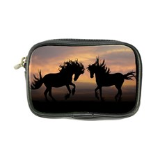 Horses Sunset Photoshop Graphics Coin Purse