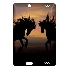Horses Sunset Photoshop Graphics Amazon Kindle Fire Hd (2013) Hardshell Case