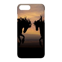 Horses Sunset Photoshop Graphics Apple Iphone 8 Plus Hardshell Case