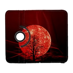 The Background Red Moon Wallpaper Galaxy S3 (flip/folio)