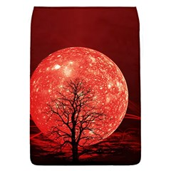 The Background Red Moon Wallpaper Flap Covers (s)