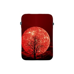 The Background Red Moon Wallpaper Apple Ipad Mini Protective Soft Cases