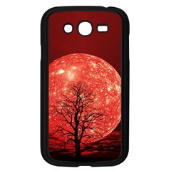 The Background Red Moon Wallpaper Samsung Galaxy Grand Duos I9082 Case (black)