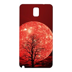 The Background Red Moon Wallpaper Samsung Galaxy Note 3 N9005 Hardshell Back Case