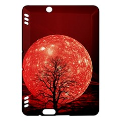 The Background Red Moon Wallpaper Kindle Fire Hdx Hardshell Case