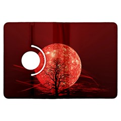 The Background Red Moon Wallpaper Kindle Fire Hdx Flip 360 Case