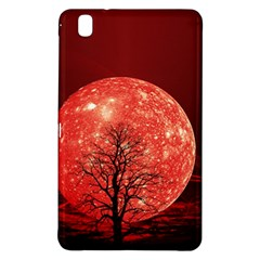 The Background Red Moon Wallpaper Samsung Galaxy Tab Pro 8 4 Hardshell Case