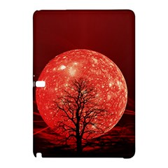The Background Red Moon Wallpaper Samsung Galaxy Tab Pro 12 2 Hardshell Case