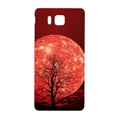 The Background Red Moon Wallpaper Samsung Galaxy Alpha Hardshell Back Case