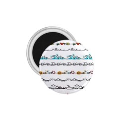 Decoration Element Style Pattern 1 75  Magnets