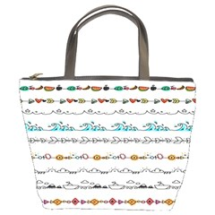 Decoration Element Style Pattern Bucket Bags