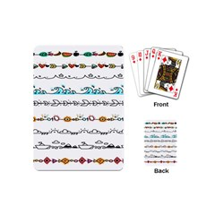 Decoration Element Style Pattern Playing Cards (mini)