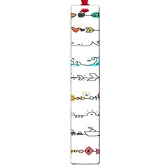 Decoration Element Style Pattern Large Book Marks