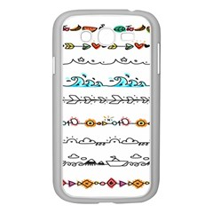 Decoration Element Style Pattern Samsung Galaxy Grand Duos I9082 Case (white)