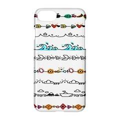Decoration Element Style Pattern Apple Iphone 8 Hardshell Case