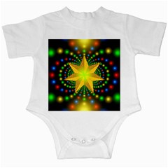 Christmas Star Fractal Symmetry Infant Creepers