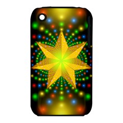 Christmas Star Fractal Symmetry Iphone 3s/3gs