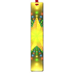 Christmas Star Fractal Symmetry Large Book Marks
