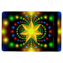 Christmas Star Fractal Symmetry Ipad Air Flip