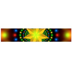 Christmas Star Fractal Symmetry Large Flano Scarf