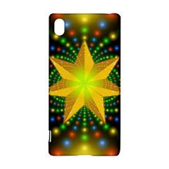 Christmas Star Fractal Symmetry Sony Xperia Z3+