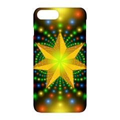 Christmas Star Fractal Symmetry Apple Iphone 8 Plus Hardshell Case