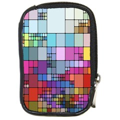 Color Abstract Visualization Compact Camera Cases