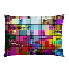 Color Abstract Visualization Pillow Case (two Sides)