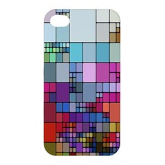 Color Abstract Visualization Apple Iphone 4/4s Hardshell Case
