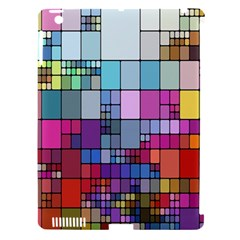 Color Abstract Visualization Apple Ipad 3/4 Hardshell Case (compatible With Smart Cover)