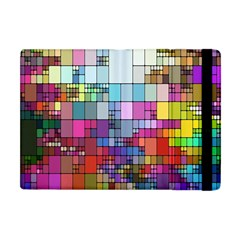 Color Abstract Visualization Apple Ipad Mini Flip Case