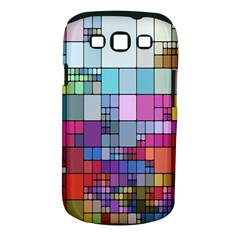 Color Abstract Visualization Samsung Galaxy S Iii Classic Hardshell Case (pc+silicone)