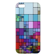 Color Abstract Visualization Apple Iphone 5 Premium Hardshell Case
