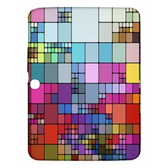 Color Abstract Visualization Samsung Galaxy Tab 3 (10 1 ) P5200 Hardshell Case