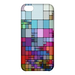 Color Abstract Visualization Apple Iphone 5c Hardshell Case