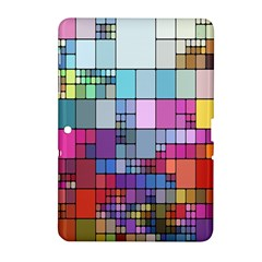 Color Abstract Visualization Samsung Galaxy Tab 2 (10 1 ) P5100 Hardshell Case